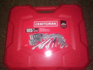 Craftsman machine tool box with 105 piece for Sale in Auburn, WA