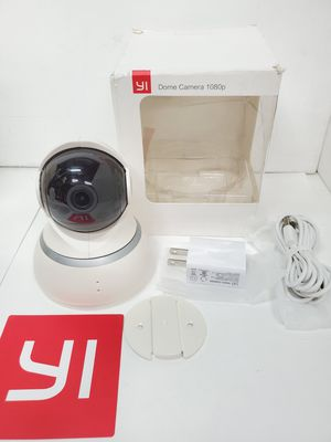Yi Dome 1080p security monitor camera indoor (you can use outdoor just keep away from rain) for Sale in Monterey Park, CA