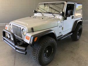 2005 Jeep Wrangler X Hardtop for Sale in Chandler, AZ