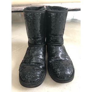 Ugg Australia Black Sequin Boots for Sale in Austin, TX
