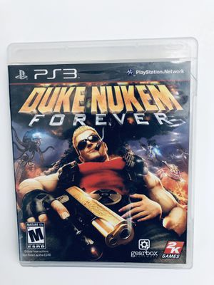 PS3 Video Game Duke Nukem Forever Tested for Sale in Fuquay-Varina, NC