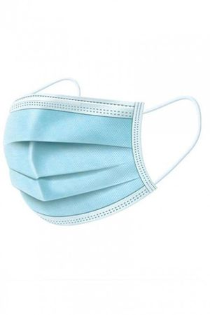 Blue Disposable Face Mask - 50 pieces - $5 for Sale in Downey, CA