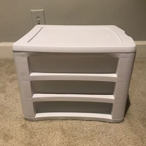 Desk 3-drawer Storage for Sale in Arlington, VA
