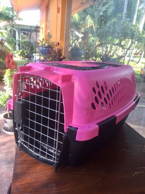 """Pet Carrier up to 10lbs. (19""""L) for Sale in Hollywood, FL"""