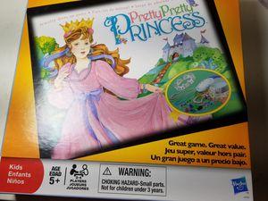 Pretty pretty princess board game for Sale in Houston, TX