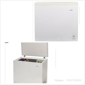 Chest freezer - Haier Haier  HF71CM33NW 37 Inch Chest Freezer with 7.1 cu. ft. Capacity. Easy Access Defrost Drain, Space Saving Flat-Back for Sale in Miami, FL