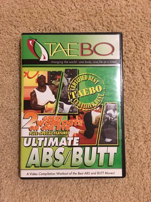 Ultimate Abs/Butt Workout DVD for Sale in Clarksburg, MD