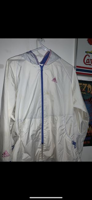 Adidas windbreak pink/white for Sale in NV, US