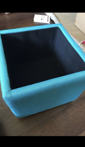 Two Blue Ottomans for Sale in New York, NY