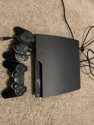 WORKING PS3 with 2 controllers for Sale in Buda, TX
