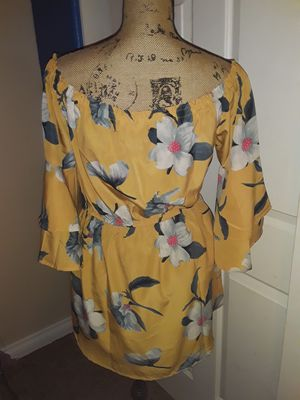 Yellow Off The Shoulder Mini Dress for Sale in North Las Vegas, NV