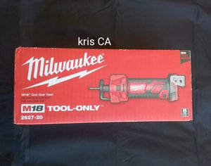 M18 milwaukee cut out tool for Sale in La Puente, CA