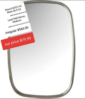 RENWIL LEAD WALL MIRROR for Sale in Fresno, CA