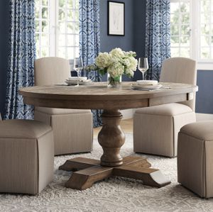 Fortunat Extendable Dining Table with lift off leaf for Sale in Palm Beach Gardens, FL