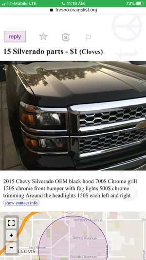 2015 Chevy parts for Sale in Fresno, CA