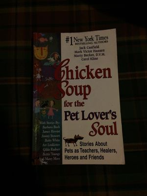 Chicken Soup for the Pet Lover's Soul for Sale in Canton, KS