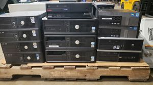 Pallet of Desktop Computers for Sale in Dallas, TX