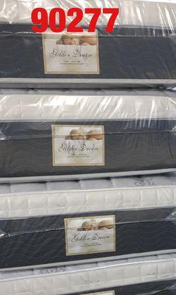 """12"""" thick pillow top mattress. Twin Mattress only-$185 Mattress & box spring-$220 Full Mattress only-$255 Mattress and box spring-$285 Queen Matt for Sale in Palos Verdes Estates,  CA"""