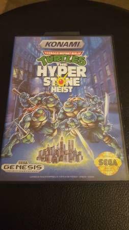 Sega Genesis Teenage Mutant Ninja Turtles The Hyper Stone Heist for Sale in Seattle, WA