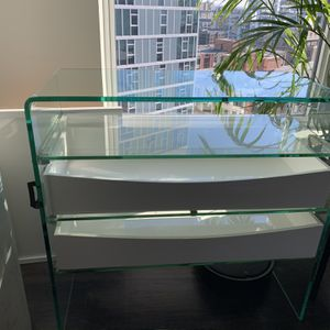 Glass Console Table for Sale in Portland, OR