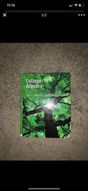 College Algebra Textbook for Sale in San Antonio, TX