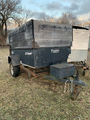 Dump trailer 5x8 NO TITLE for Sale in Batsto, NJ