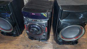 Lg 1200 watt mini hi-fi stereo system for Sale in E RNCHO DMNGZ, CA