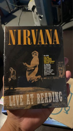 Nirvana cd dvd new sealed for Sale in Los Angeles, CA