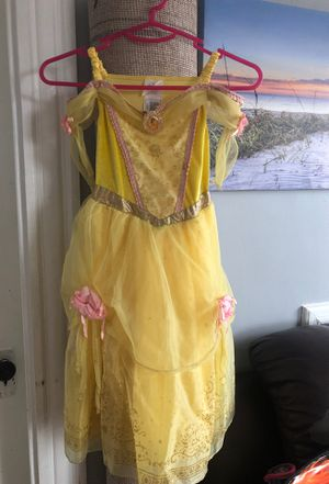 Girls Disney Belle costume size 4 for Sale in Boston, MA