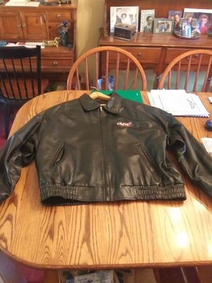 Leather Coat - The Block at Orange - Large - $10.00 for Sale in St. Louis, MO