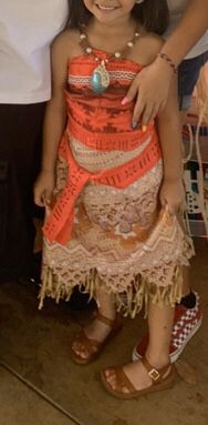 Moana costume 4/6 for Sale in Fontana, CA