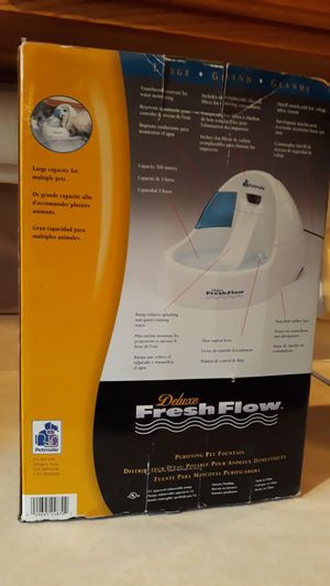 DELUXE FRESH FLOW FOUNTAIN - BRAND NEW for Sale in Phoenix, AZ