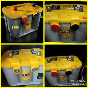 WE NEED CORE YELLOWTOP DEEP-CYCLE BATTERY AVAILABLE GEL OPTIMA BATTERY'S AVAILABLE DEEP CYCLE GEL BATTERIES for Sale in Garden Grove, CA