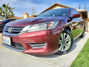 LIKE NEW 2015 HONDA ACCORD LX! CLEAN TITLE! CARFAX AVAILABLE! for Sale in San Bernardino, CA