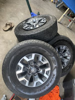 TACOMA TRD OFF-ROAD WHEELS AND TIRES for Sale in DEVORE HGHTS, CA
