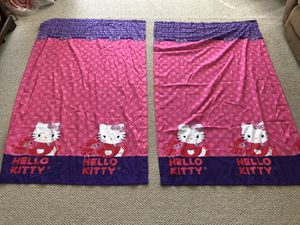 Hello Kitty curtains for Sale in New Albany, OH