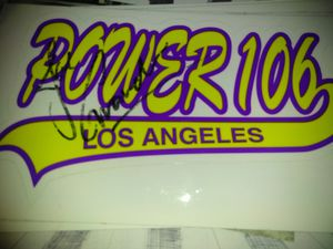 Rare item Rare itme power 106 los Angeles sticker. for Sale in Bell Gardens, CA
