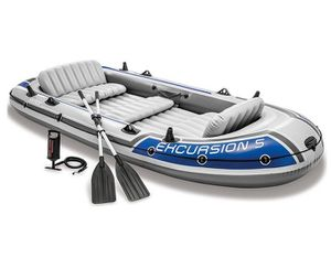Intex Excursion Inflatable Boat Series for Sale in Las Vegas, NV