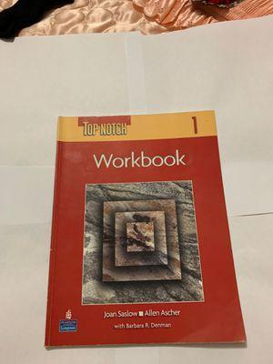 Top Notch 1 workbook for Sale in Opa-locka, FL