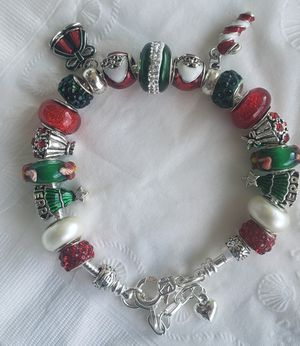 Christmas Charm Bracelet Buy 1 for $15 or 2 for $25 for Sale in Baltimore, MD