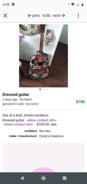 Dressed guitar for Sale in Richland, WA