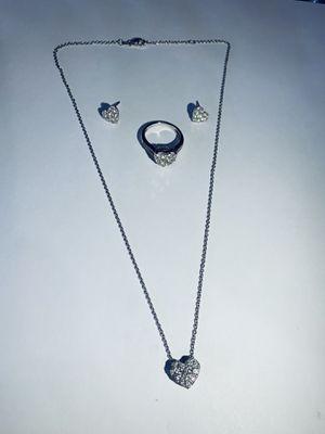 Heart diamond set for Sale in Downey, CA
