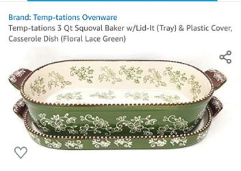 13 pc Temp-tation Squoval Bakeware set for Sale in Montgomery,  TX