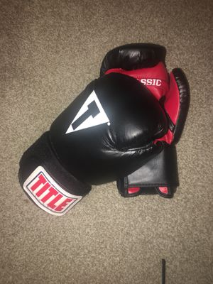 Title boxing gloves - $35 for Sale in Orlando, FL