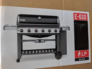 Weber Genesis II E-610 propane gas grill bbq for Sale in Wheat Ridge, CO
