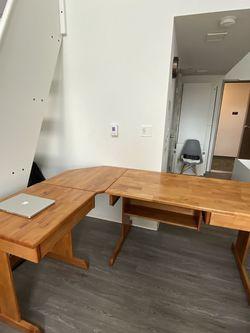 Solid Pine Desk for Sale in Tacoma,  WA