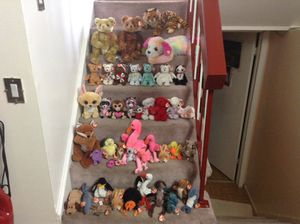 42 TY Stuffed Plushes (Stuffed Animals)With Original Tags for Sale in Roselle, IL