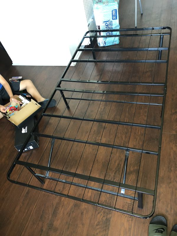 Twin size bed frame. Used