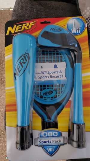 Nerf wii sports pack for Sale in Fresno, CA