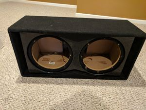 2 12's Ported Subwoofer Box for Sale in Fort Washington, MD